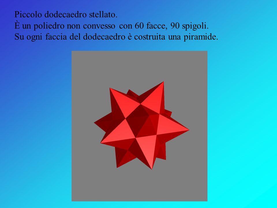 Piccolo dodecaedro stellato.