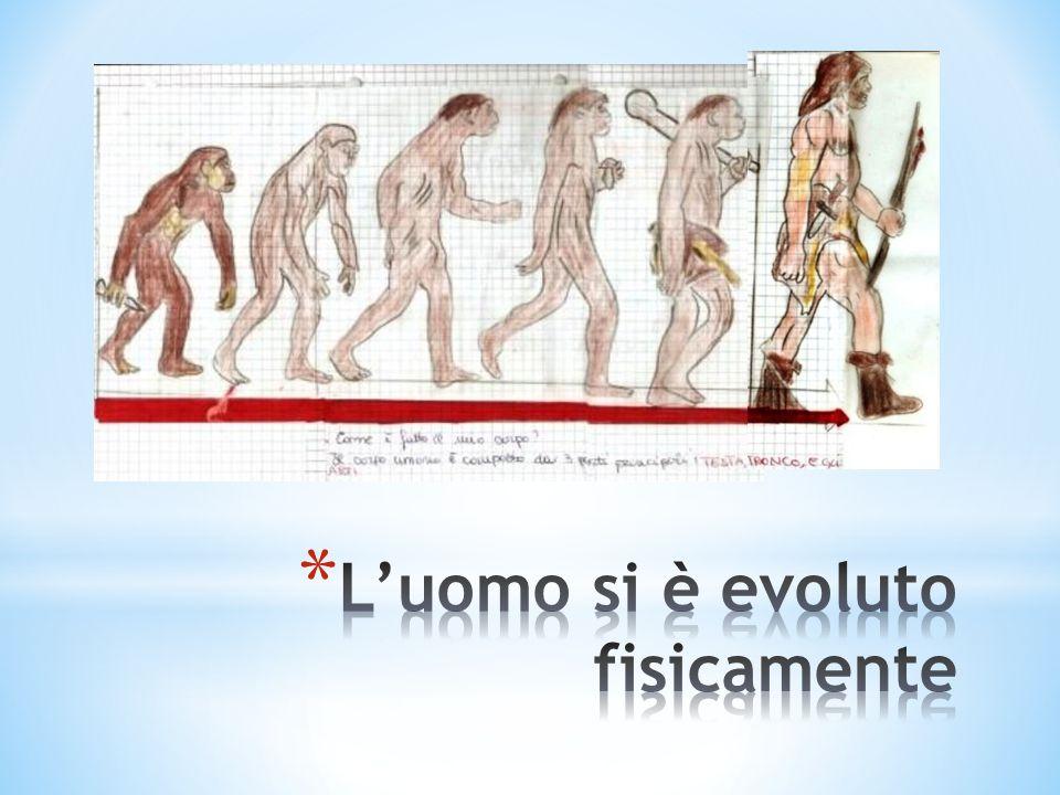 L'uomo si è evoluto fisicamente