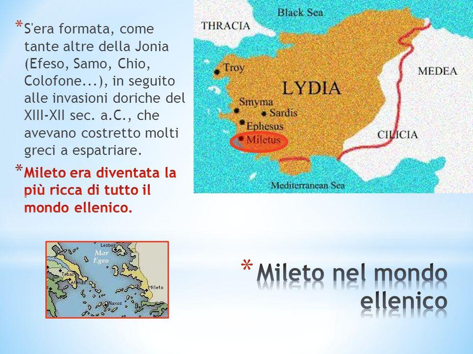 Mileto nel mondo ellenico