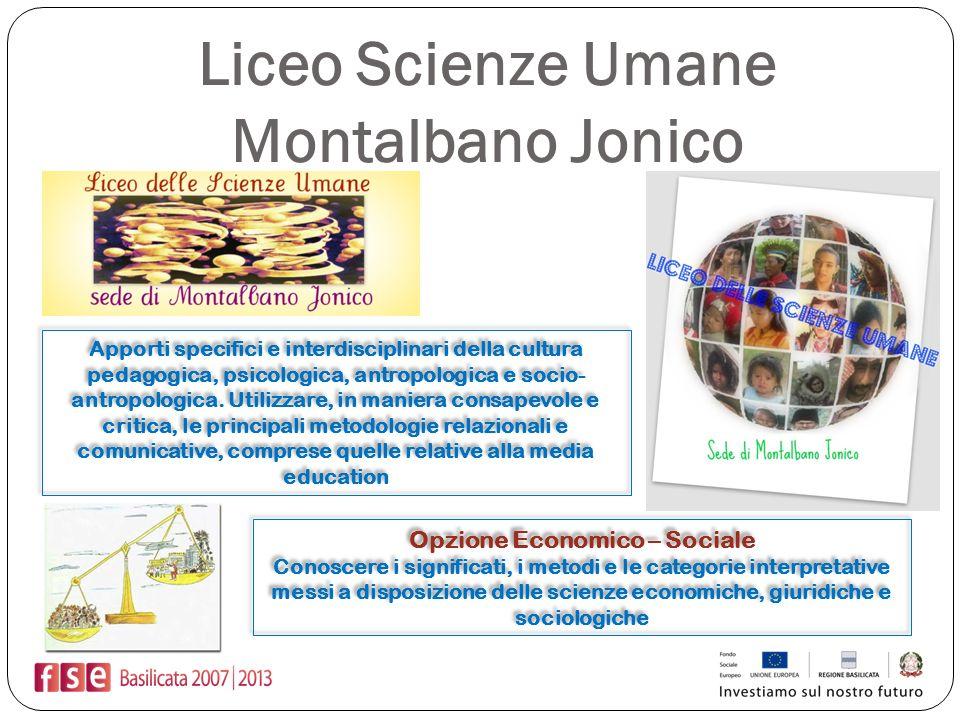 Liceo Scienze Umane Montalbano Jonico