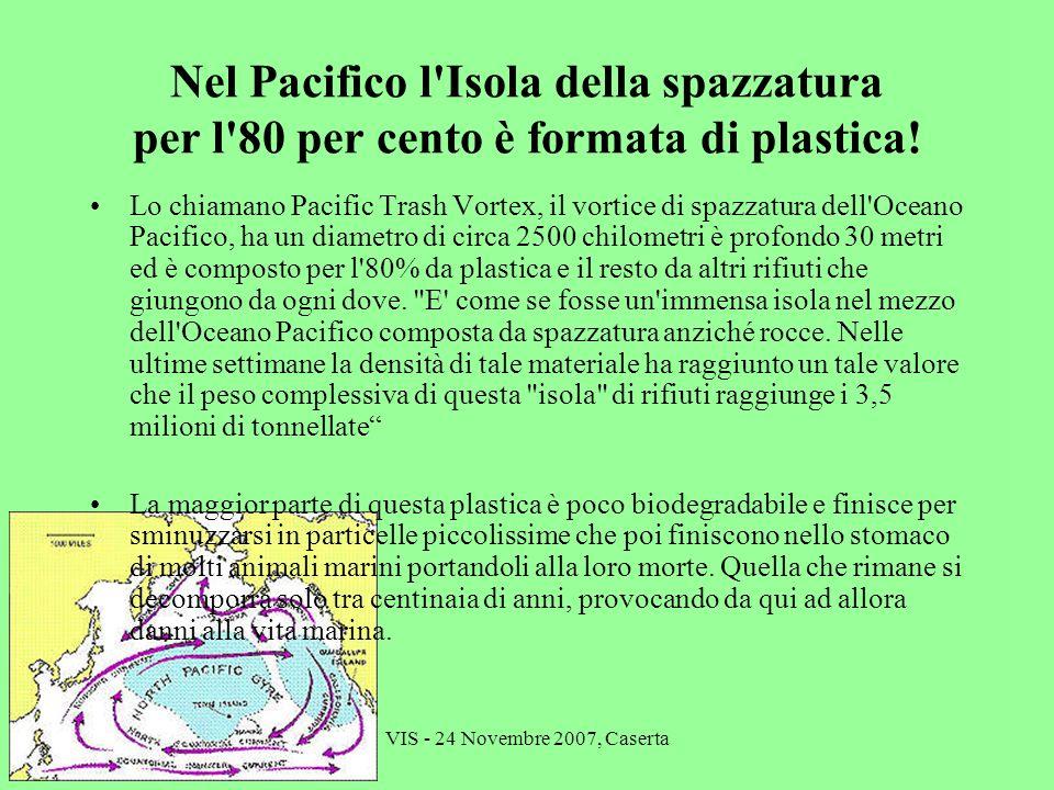 Nel Pacifico l Isola della spazzatura per l 80 per cento è formata di plastica!