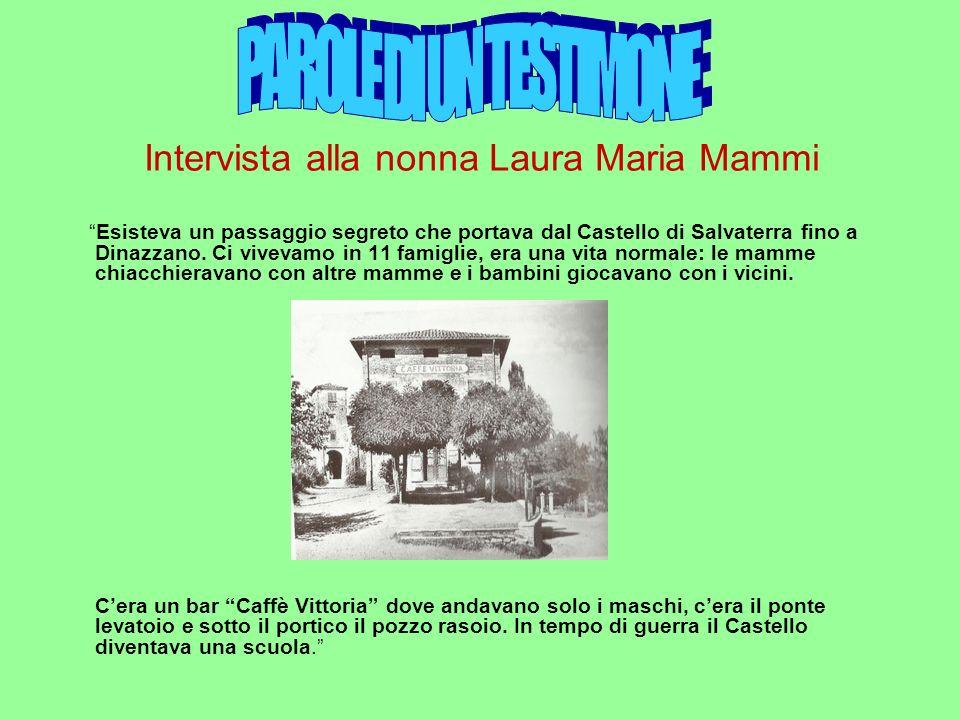 Intervista alla nonna Laura Maria Mammi