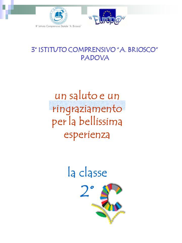 3° ISTITUTO COMPRENSIVO A. BRIOSCO PADOVA