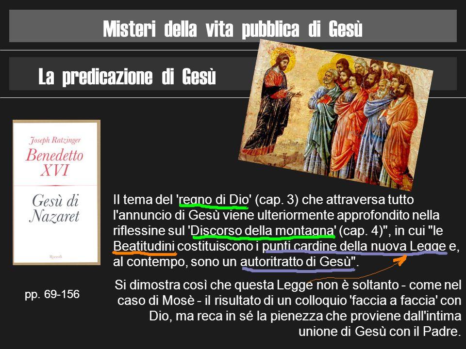 Misteri della vita pubblica di Gesù