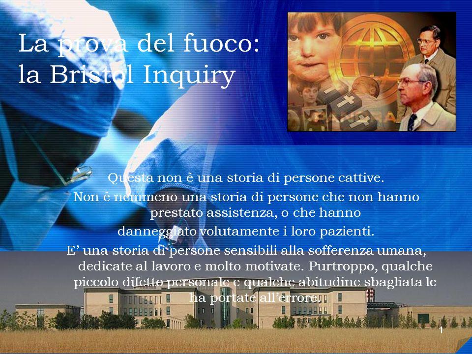 La prova del fuoco: la Bristol Inquiry