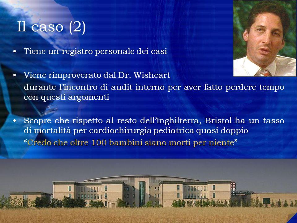 Il caso (2) Tiene un registro personale dei casi