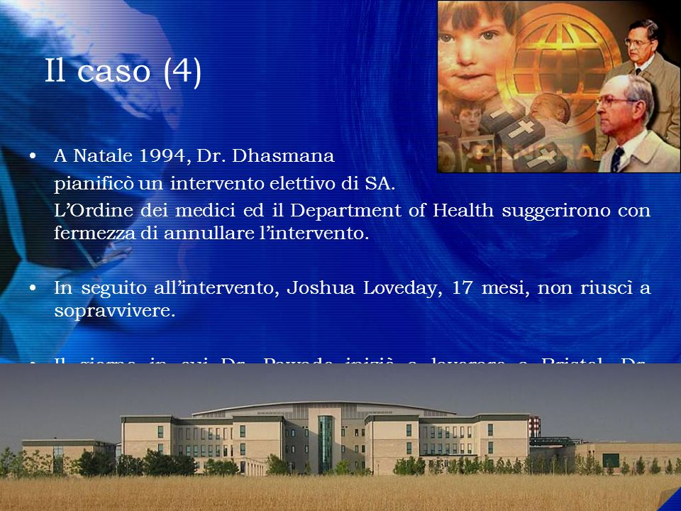 Il caso (4) A Natale 1994, Dr. Dhasmana
