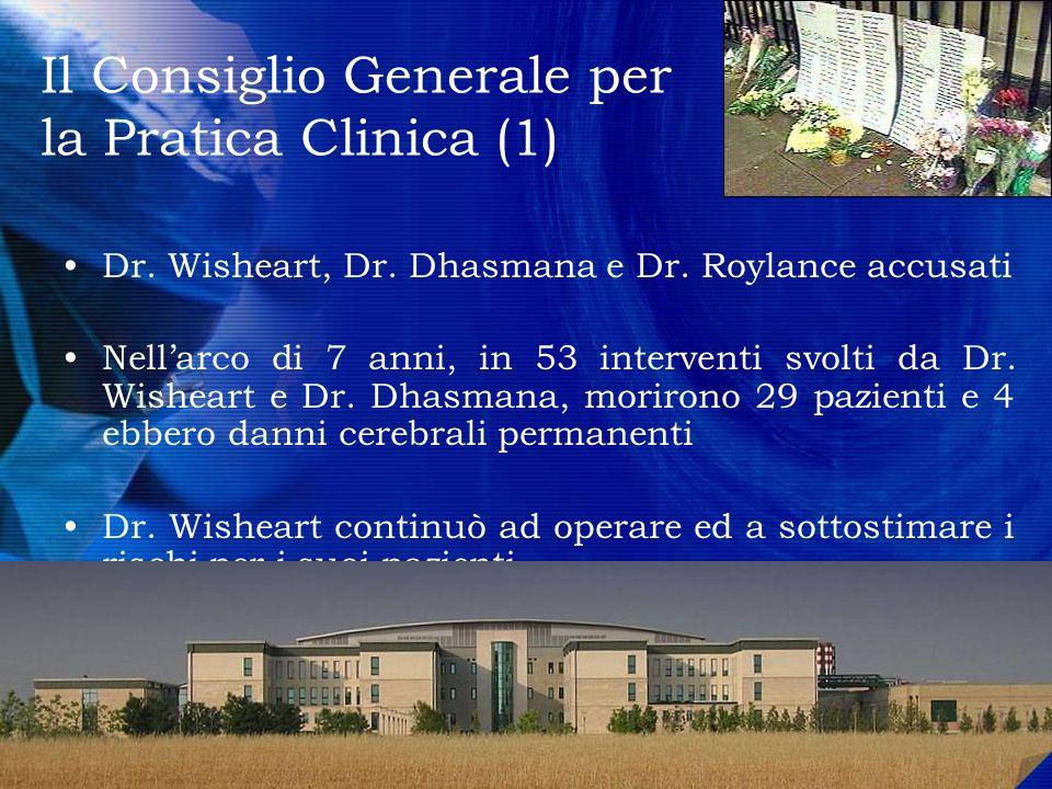 Il Consiglio Generale per la Pratica Clinica (1)