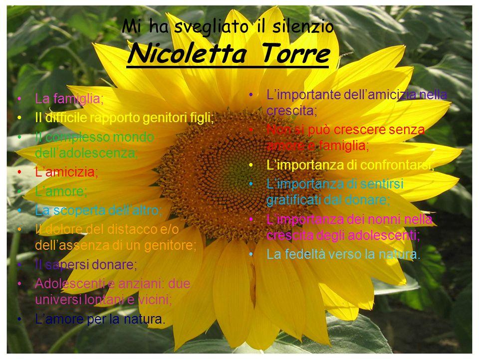 Mi ha svegliato il silenzio Nicoletta Torre