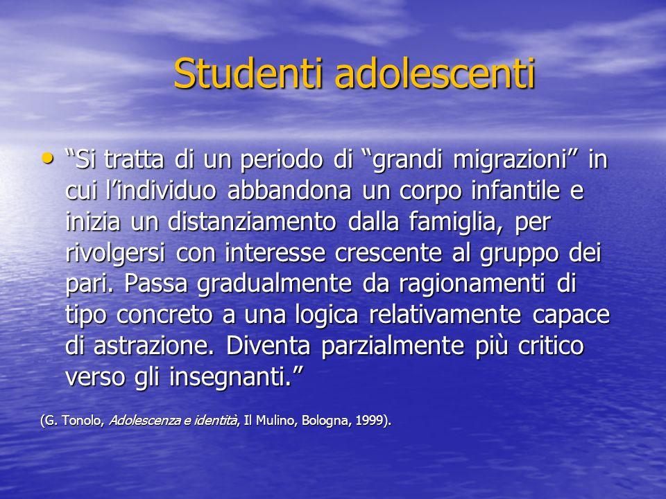 Studenti adolescenti