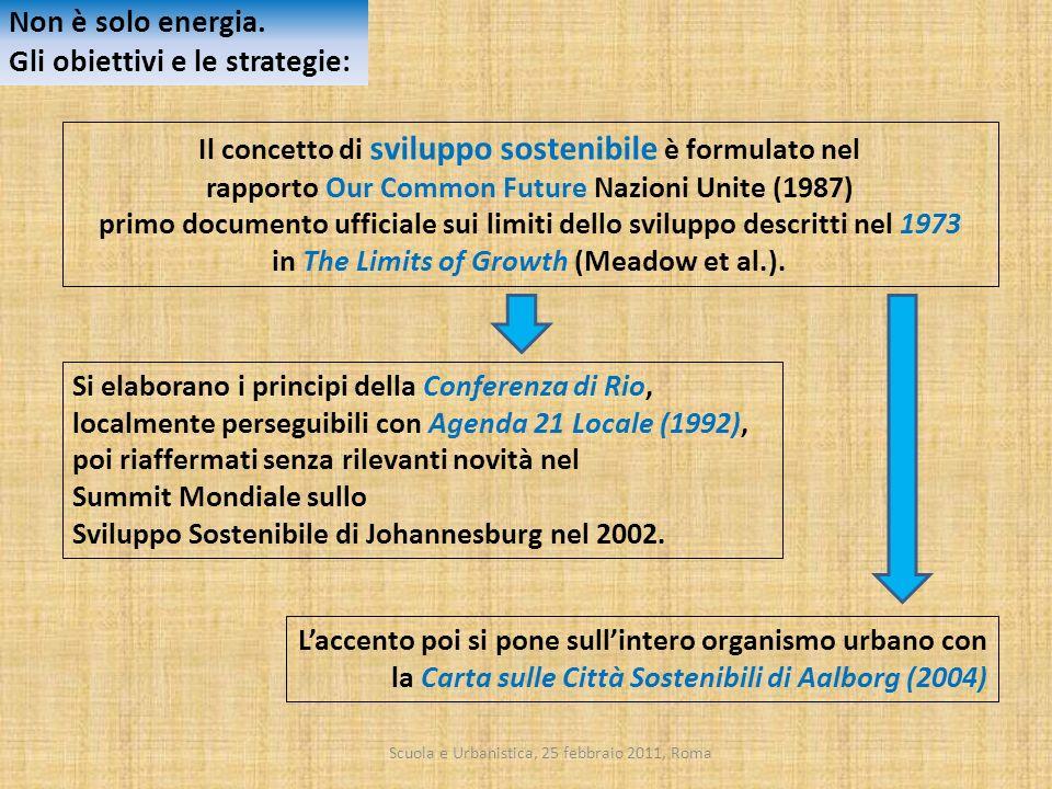 Gli obiettivi e le strategie: