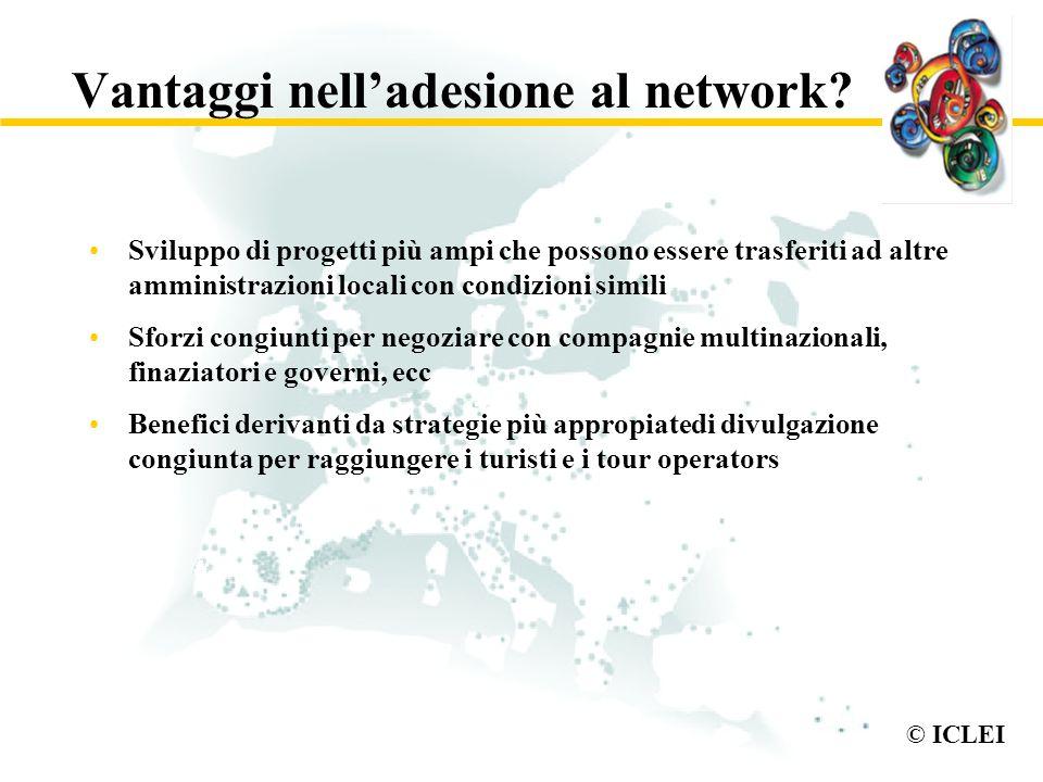 Vantaggi nell'adesione al network