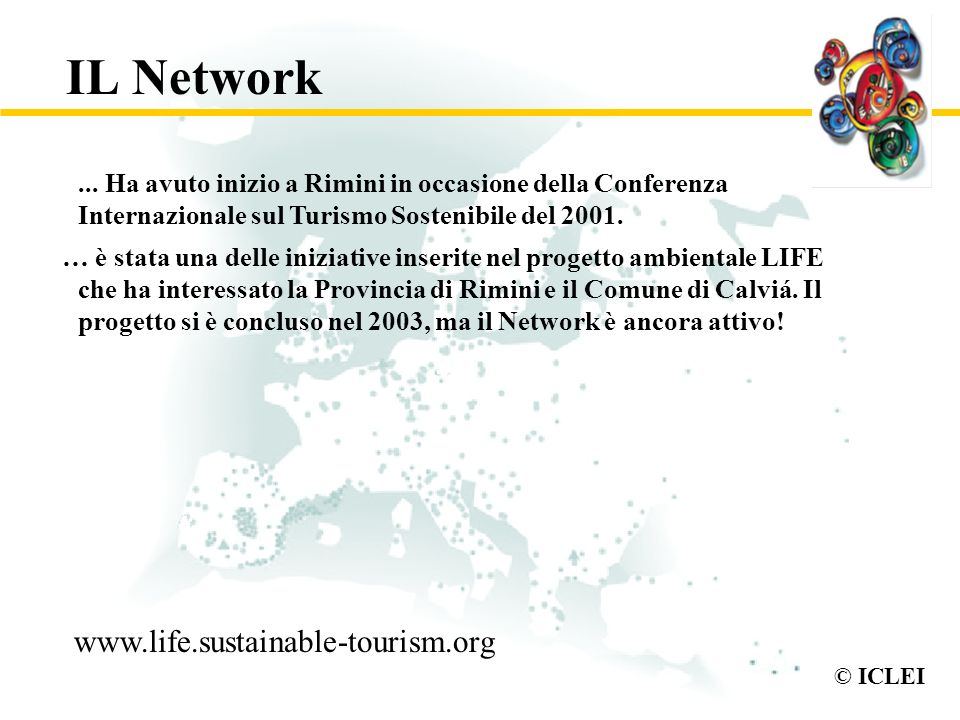 IL Network www.life.sustainable-tourism.org