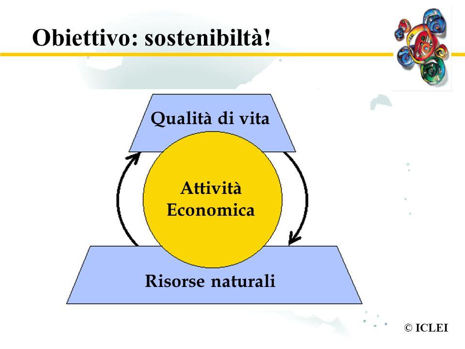 Obiettivo: sostenibiltà!