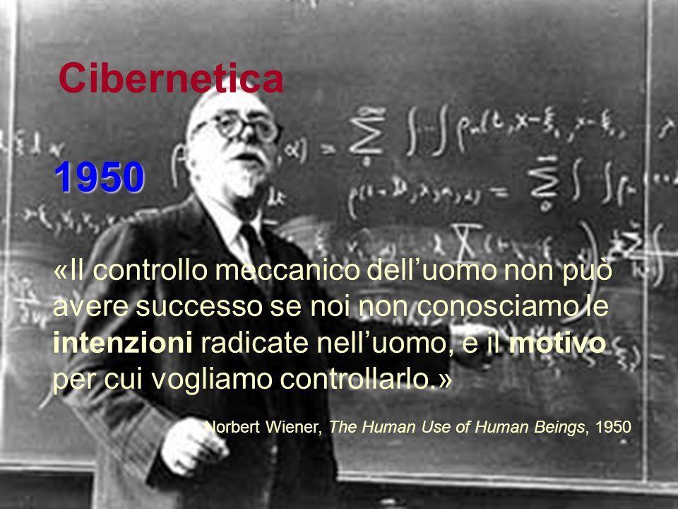 Cibernetica 1950.