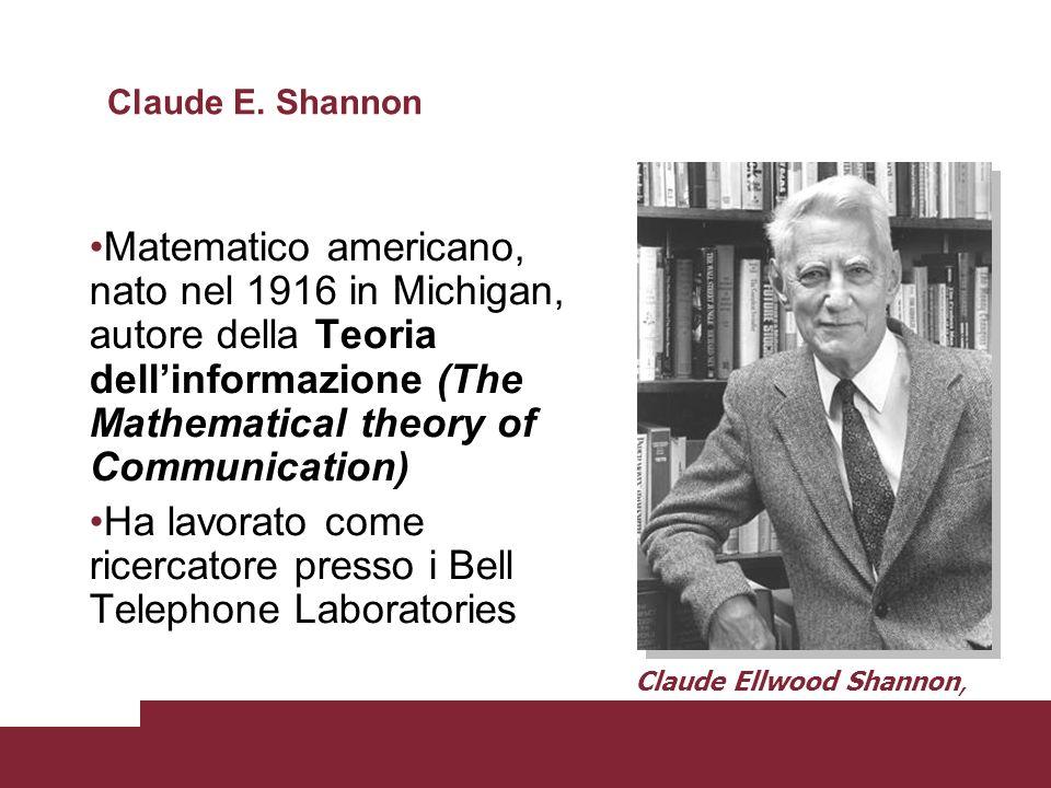 Ha lavorato come ricercatore presso i Bell Telephone Laboratories