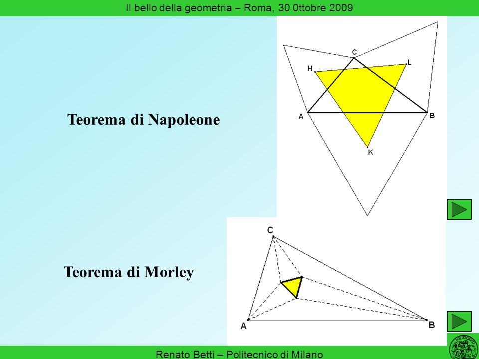 Teorema di Napoleone Teorema di Morley