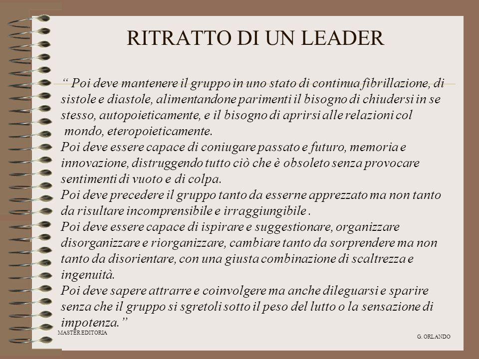 RITRATTO DI UN LEADER