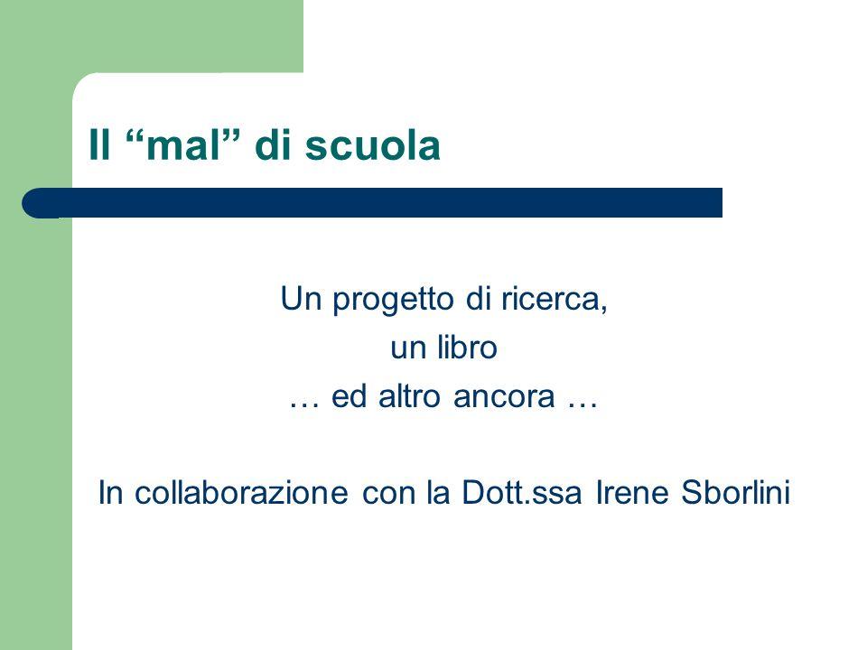 In collaborazione con la Dott.ssa Irene Sborlini