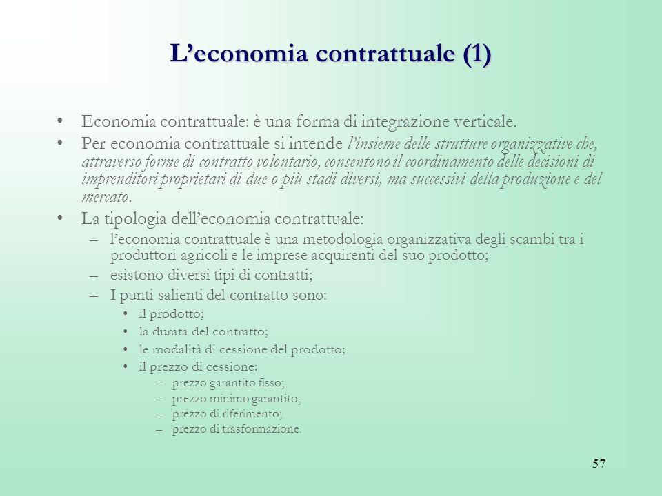 L'economia contrattuale (1)