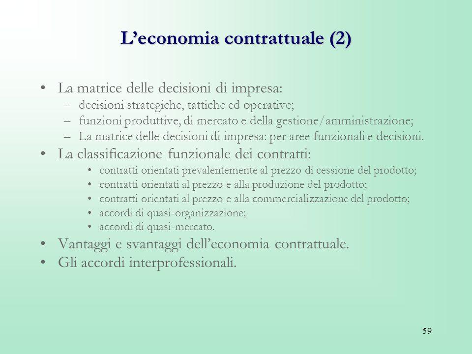 L'economia contrattuale (2)