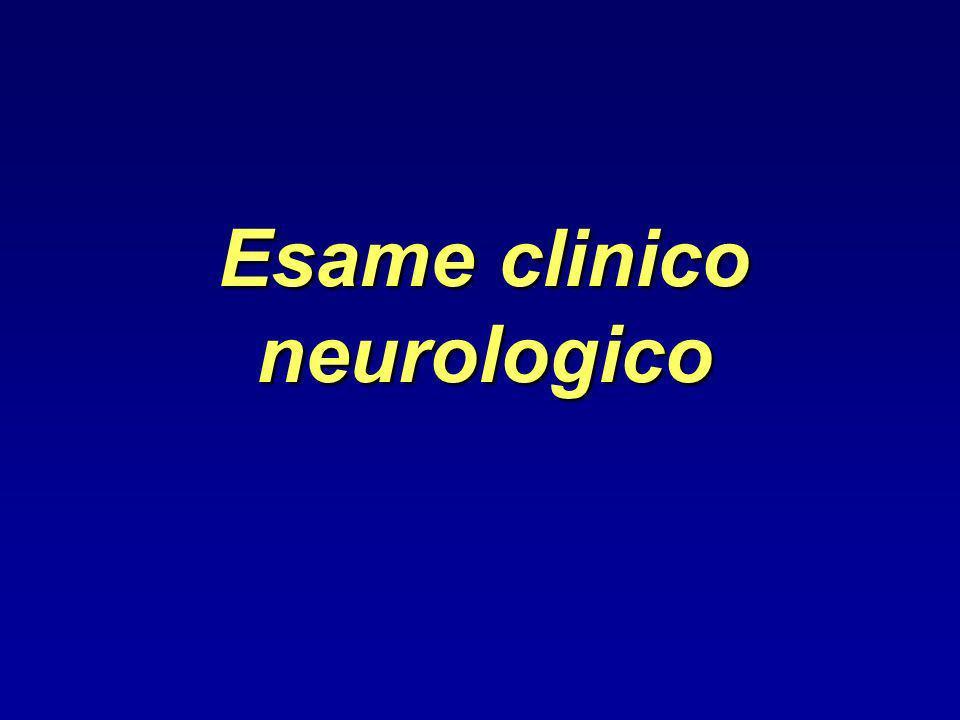 Esame clinico neurologico