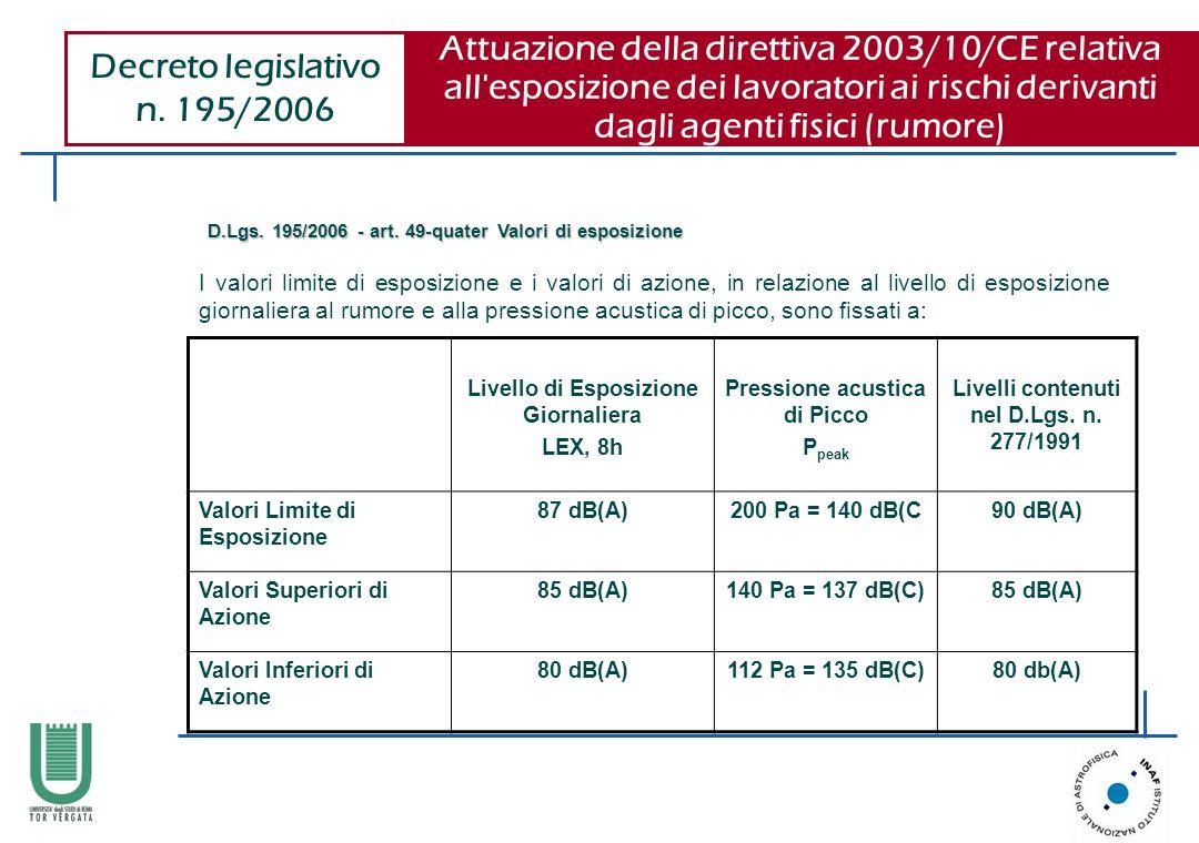 Decreto legislativo n. 195/2006