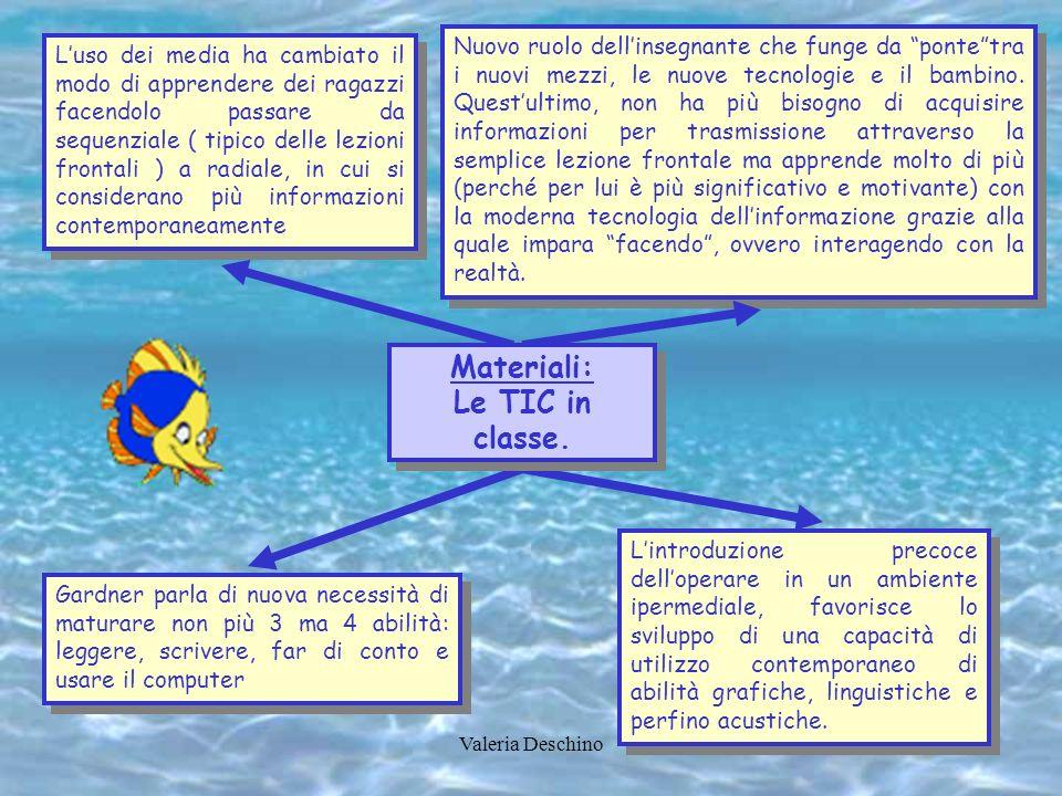 Materiali: Le TIC in classe.