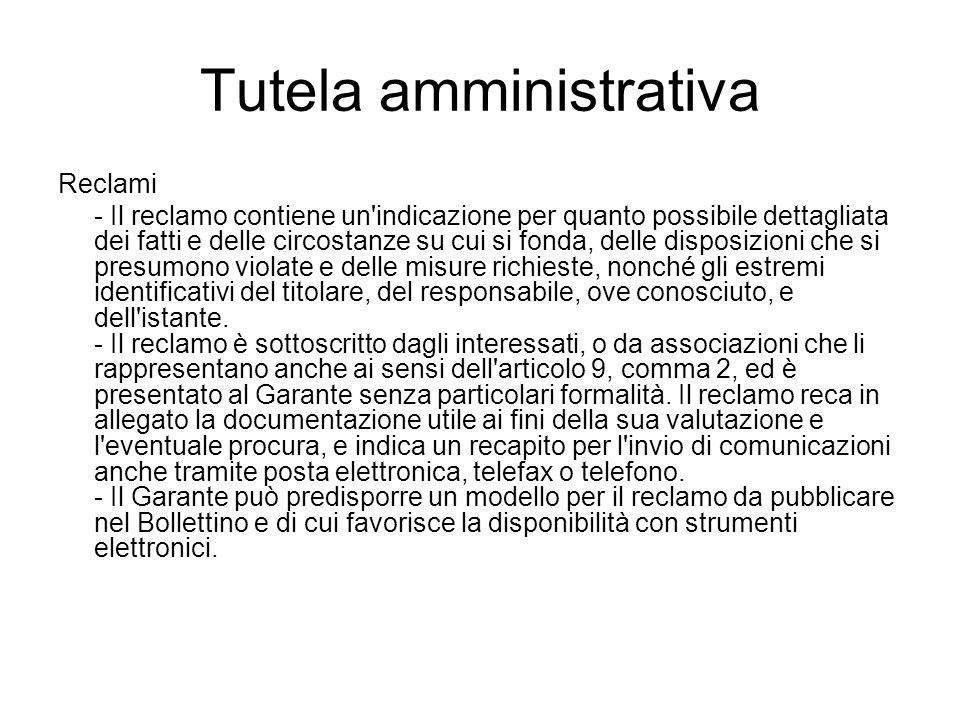 Tutela amministrativa
