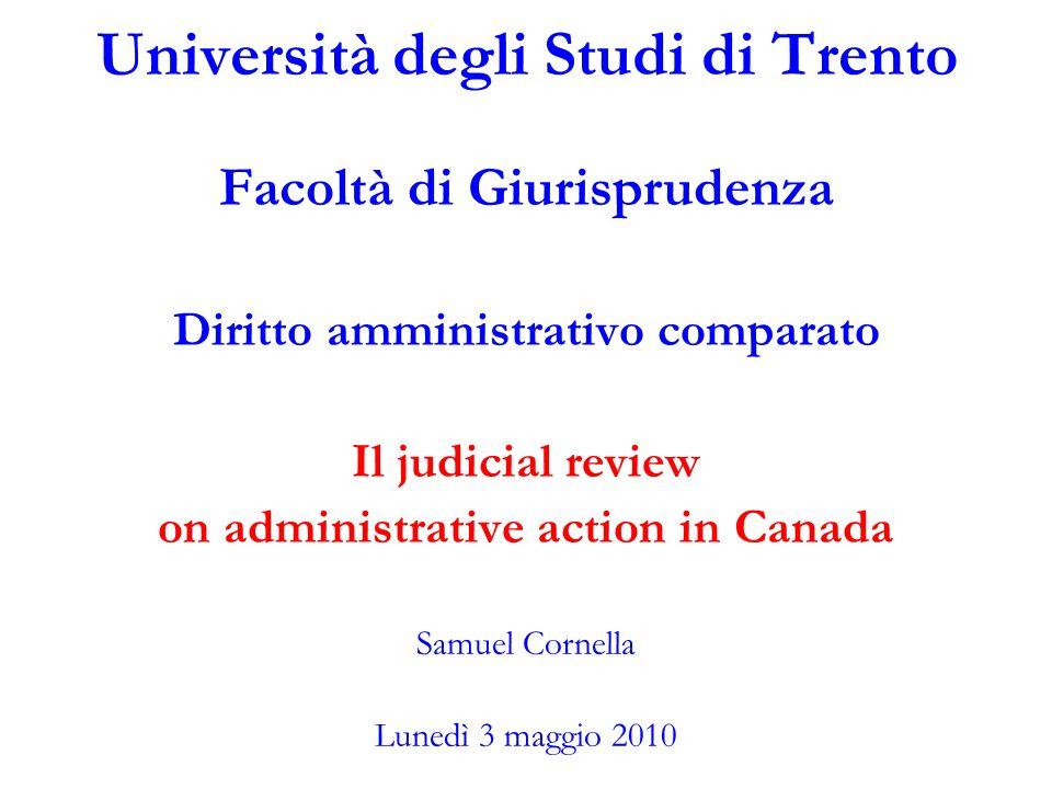 Università degli Studi di Trento