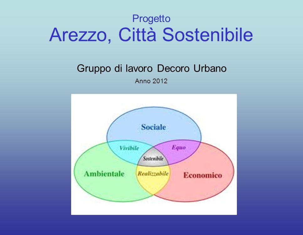 Progetto Arezzo, Città Sostenibile