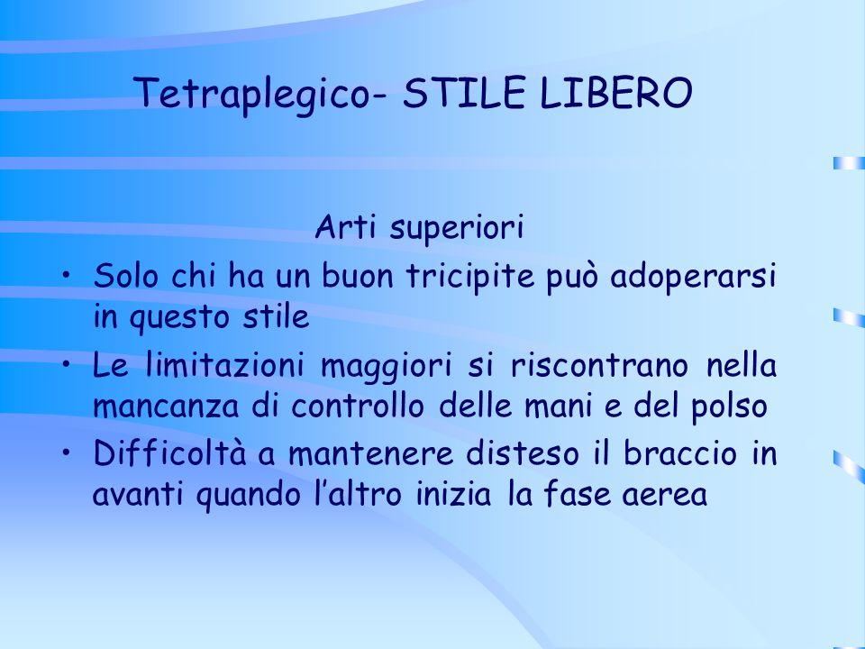 Tetraplegico- STILE LIBERO