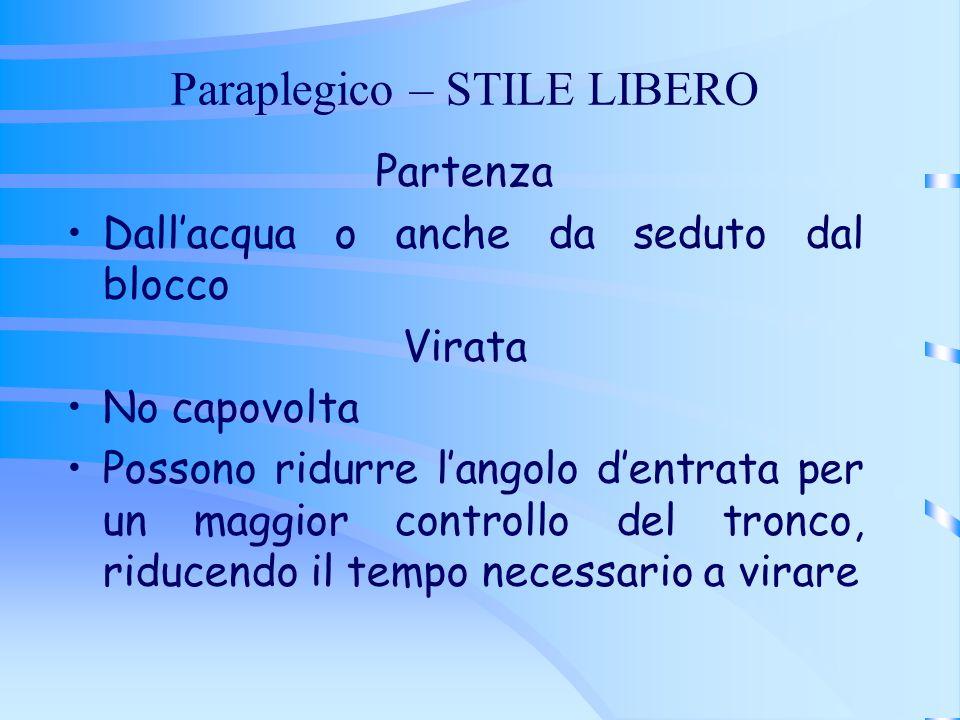 Paraplegico – STILE LIBERO