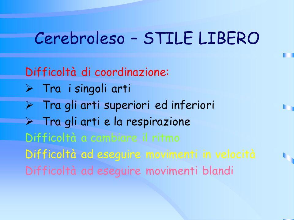 Cerebroleso – STILE LIBERO