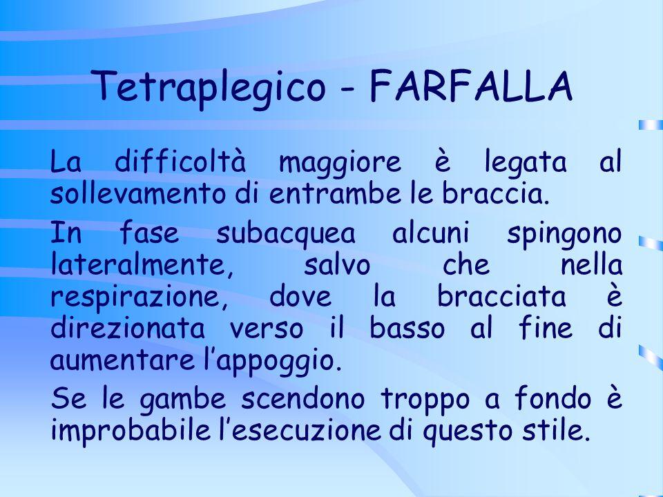 Tetraplegico - FARFALLA
