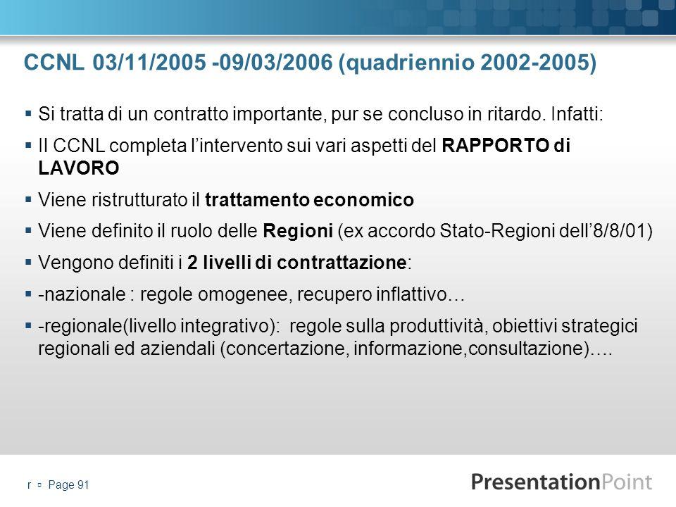 CCNL 03/11/2005 -09/03/2006 (quadriennio 2002-2005)