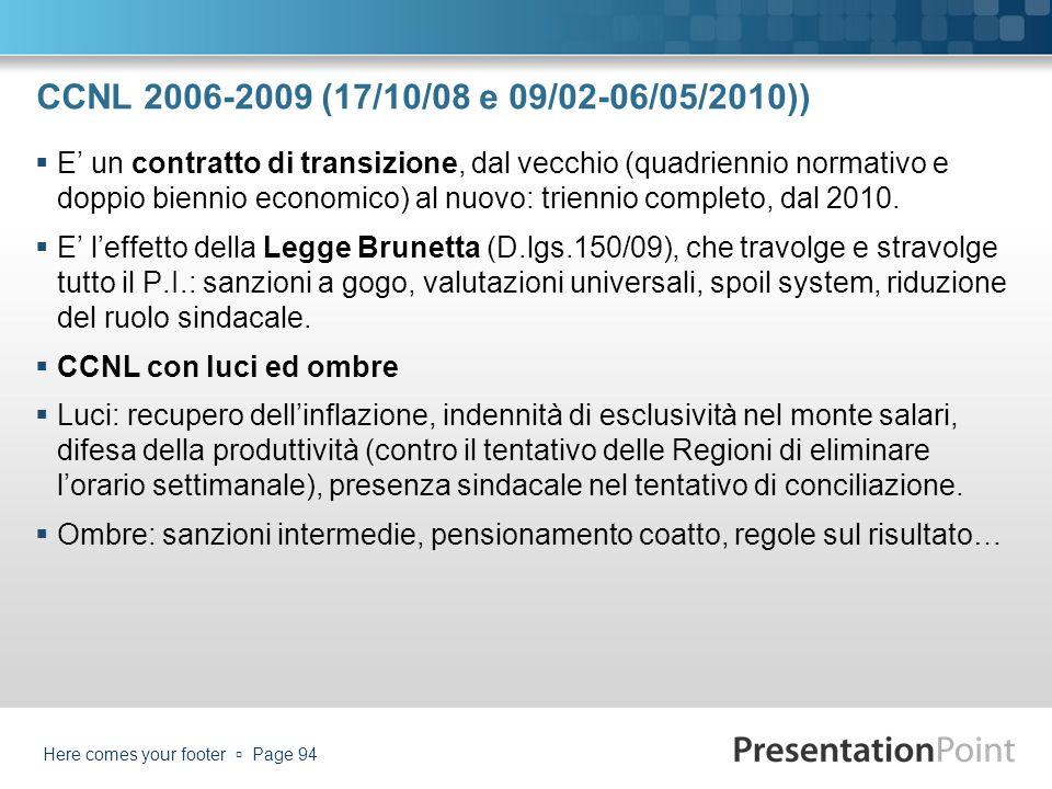 CCNL 2006-2009 (17/10/08 e 09/02-06/05/2010))