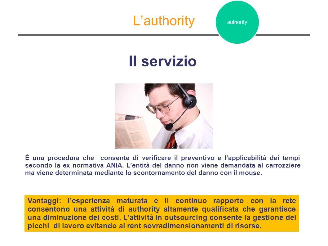 Il servizio L'authority