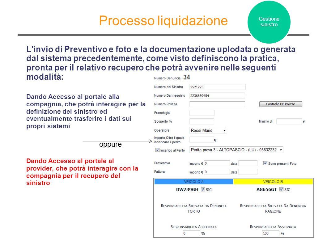 Processo liquidazione