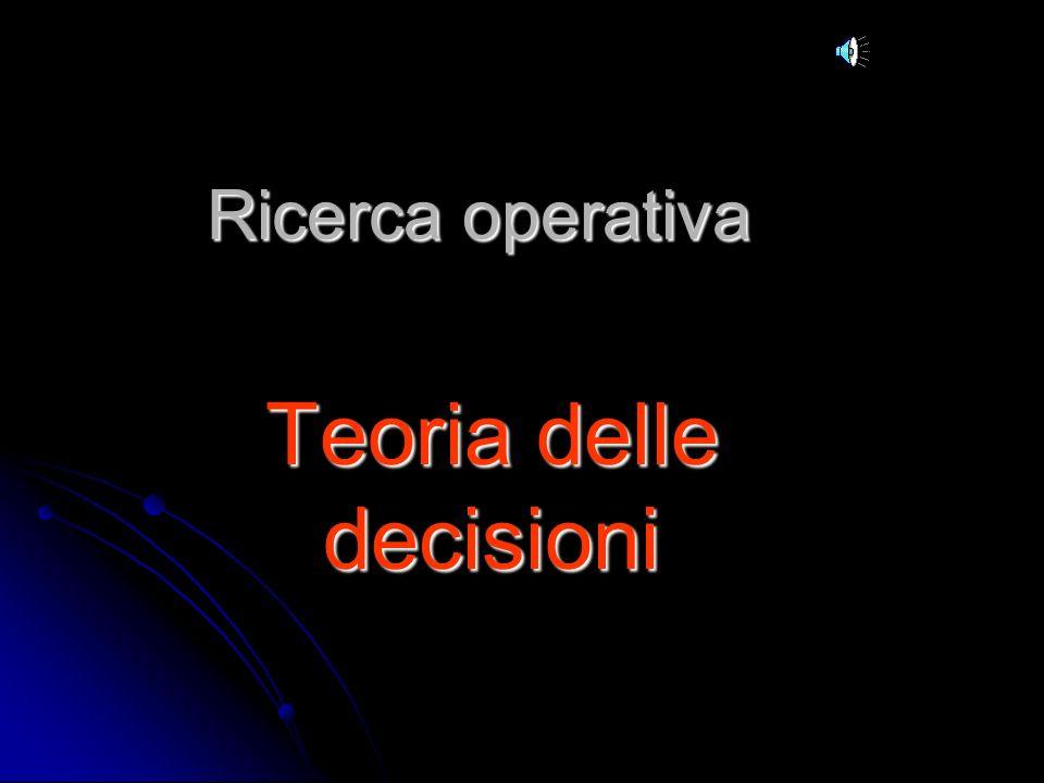 Teoria delle decisioni