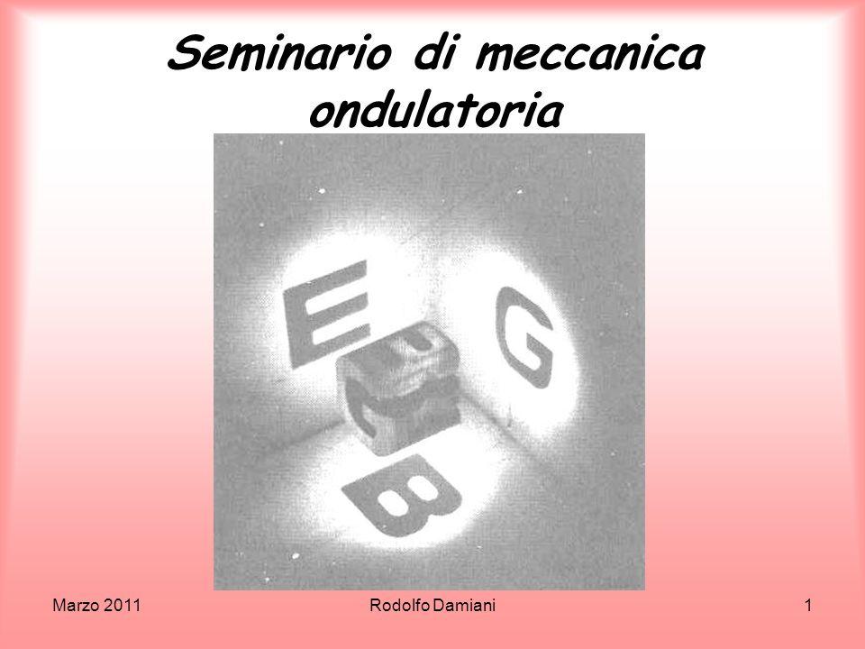 Seminario di meccanica ondulatoria
