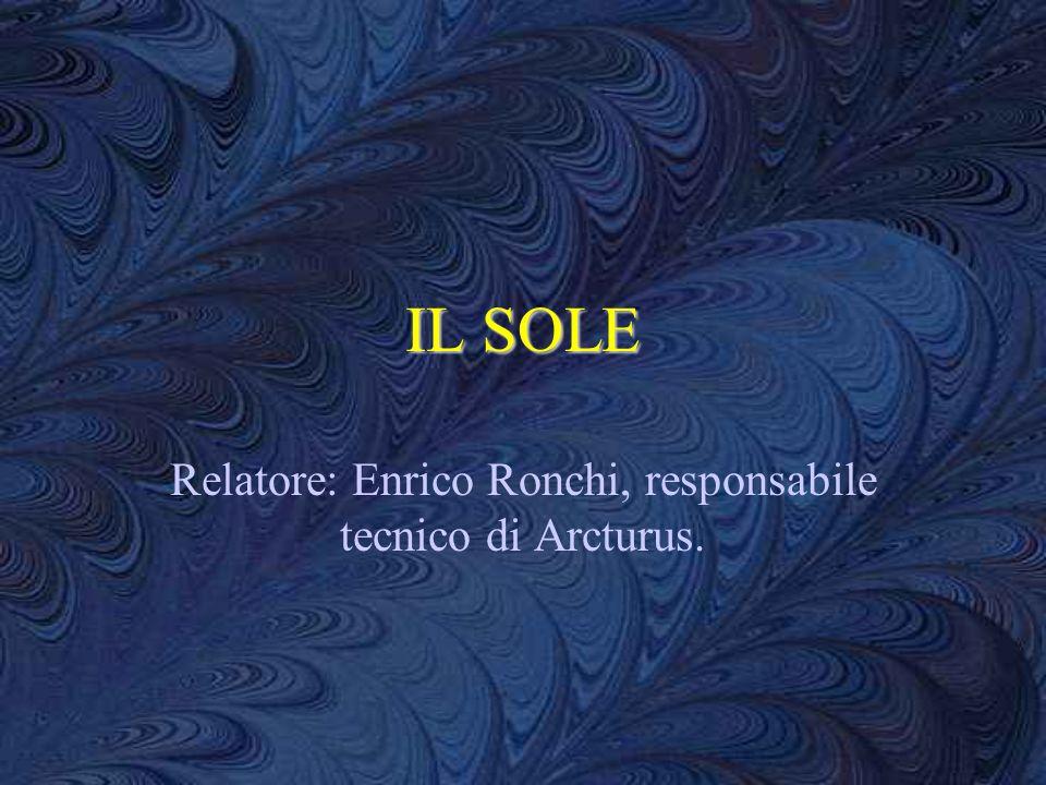 Relatore: Enrico Ronchi, responsabile tecnico di Arcturus.