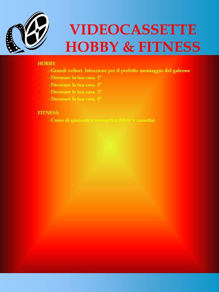 VIDEOCASSETTE HOBBY & FITNESS