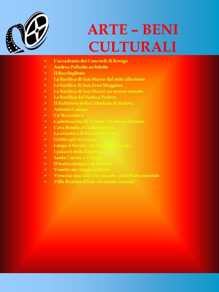 ARTE – BENI CULTURALI 8 L accademia dei Concordi di Rovigo