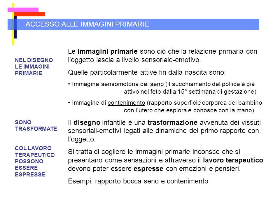 ACCESSO ALLE IMMAGINI PRIMARIE