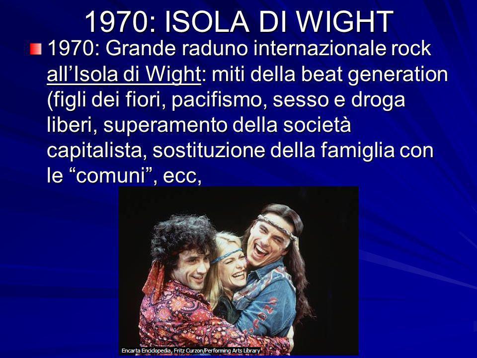 1970: ISOLA DI WIGHT