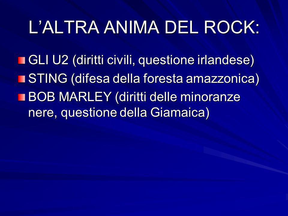 L'ALTRA ANIMA DEL ROCK: