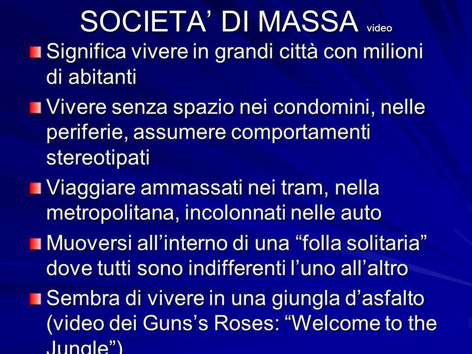 SOCIETA' DI MASSA video