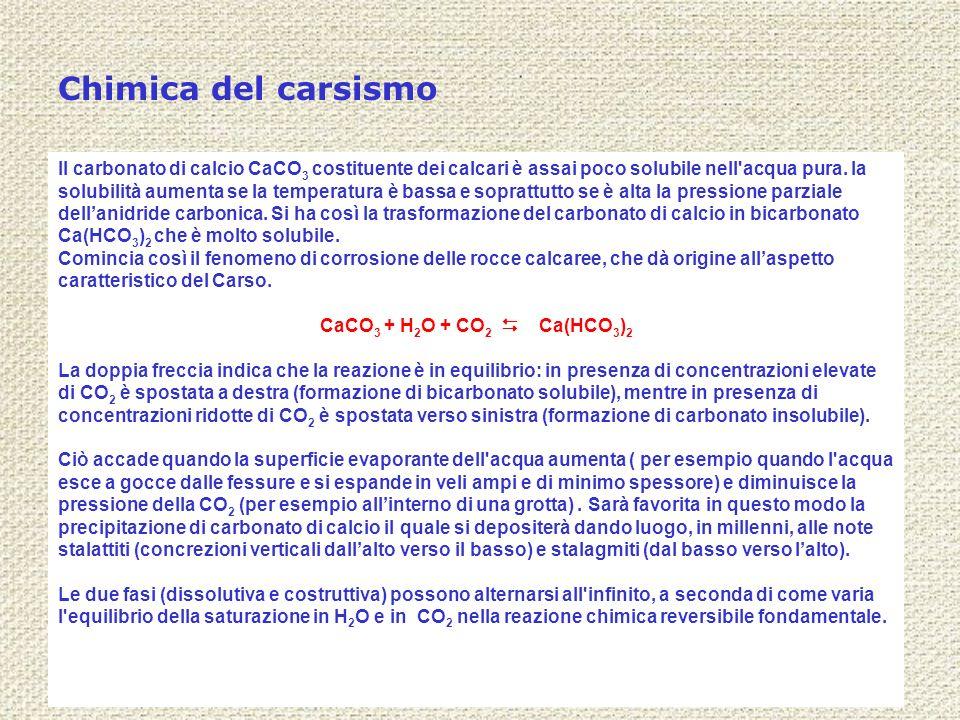 Chimica del carsismo