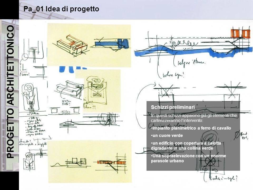 Renzo piano sede de il sole 24 ore ppt scaricare for Software di piano planimetrico